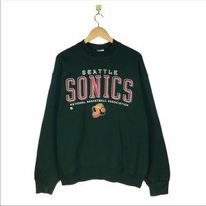 VINTAGE Seattle Sonics Sweatshirt
